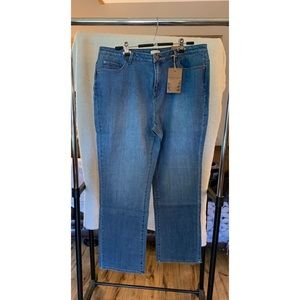 Brand New Coldwater Creek PS Classic Shaping Jean